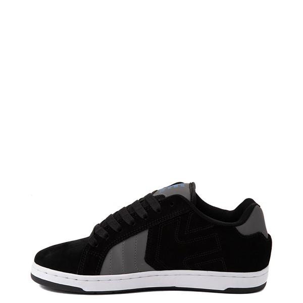 alternate view Mens etnies Fader 2 Skate Shoe - Black / Gray / Royal BlueALT1