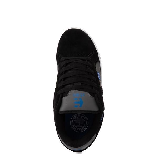 alternate view Mens etnies Fader 2 Skate Shoe - Black / Gray / Royal BlueALT2