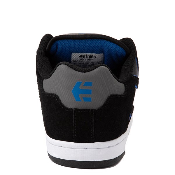alternate view Mens etnies Fader 2 Skate Shoe - Black / Gray / Royal BlueALT4