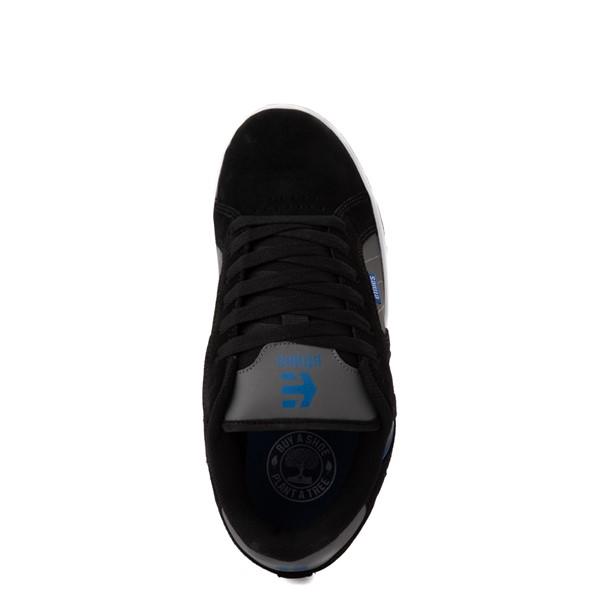 alternate view Mens etnies Fader 2 Skate Shoe - Black / Gray / Royal BlueALT4B