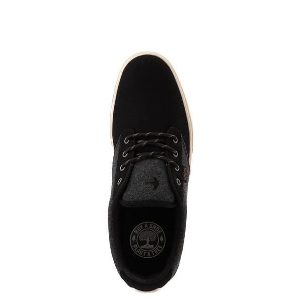 alternate view Mens etnies Jameson 2 Eco Skate Shoe - Black / Heather GrayALT2