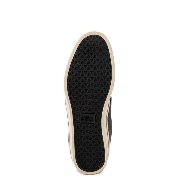 alternate view Mens etnies Jameson 2 Eco Skate Shoe - Black / Heather GrayALT3