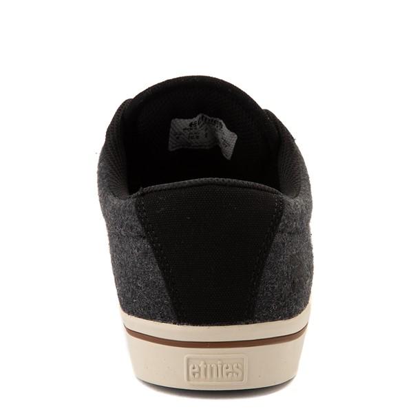 alternate view Mens etnies Jameson 2 Eco Skate Shoe - Black / Heather GrayALT4