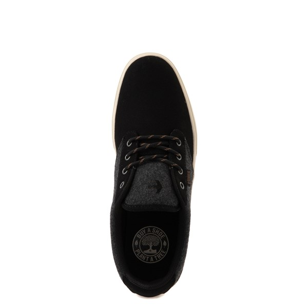 alternate view Mens etnies Jameson 2 Eco Skate Shoe - Black / Heather GrayALT4B