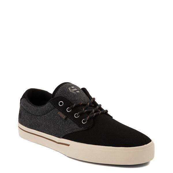 alternate view Mens etnies Jameson 2 Eco Skate Shoe - Black / Heather GrayALT5