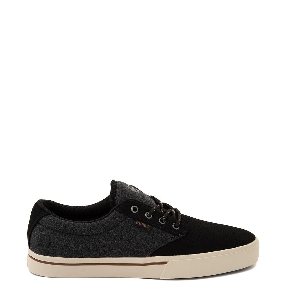 Mens etnies Jameson 2 Eco Skate Shoe - Black / Heather Gray