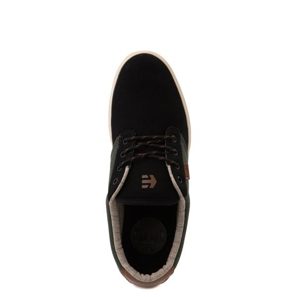alternate view Mens etnies Jameson 2 Eco Skate Shoe - Black / GreenALT4B