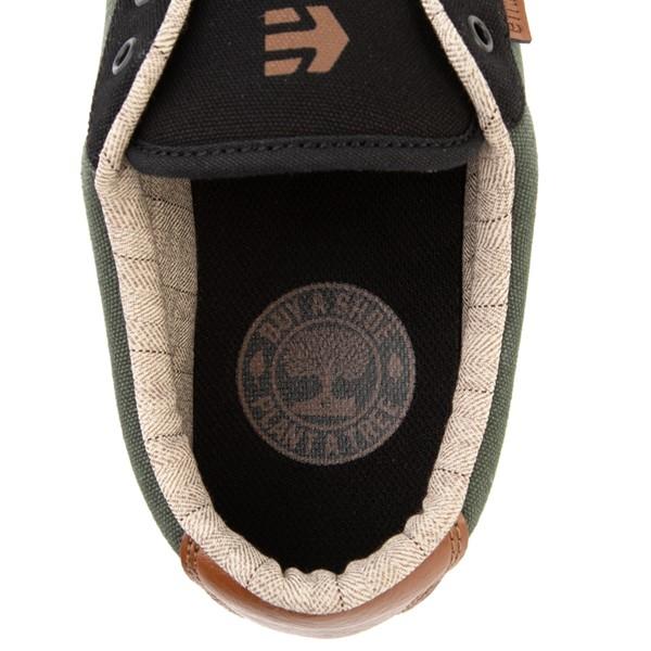 alternate view Mens etnies Jameson 2 Eco Skate Shoe - Black / GreenALT4C