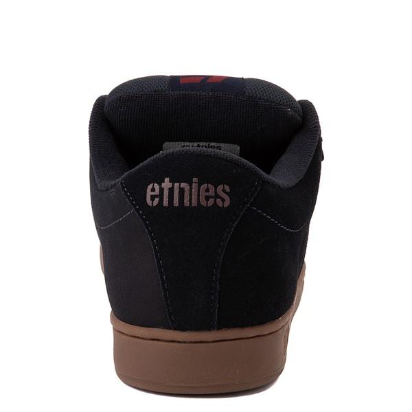 alternate view Mens etnies Kingpin Skate Shoe - Navy / GumALT4