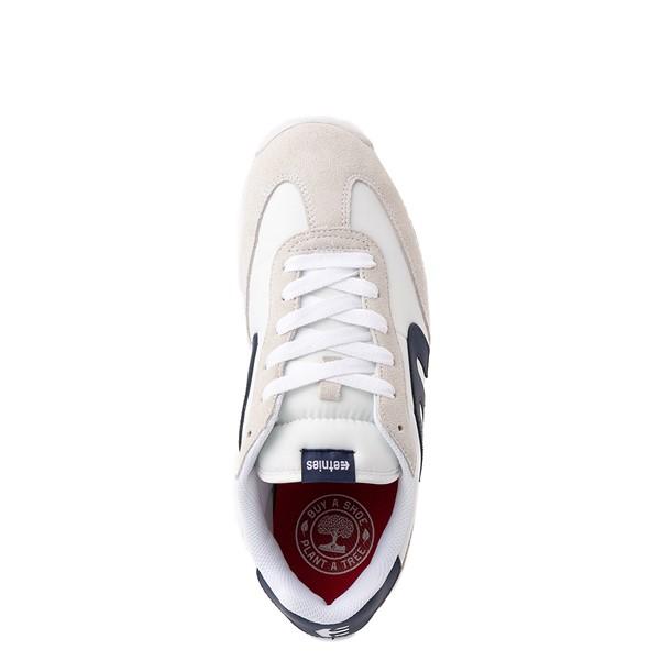 alternate view Mens etnies Lo-Cut CB Skate Shoe - White / NavyALT2