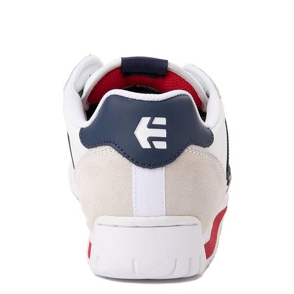 alternate view Mens etnies Lo-Cut CB Skate Shoe - White / NavyALT4