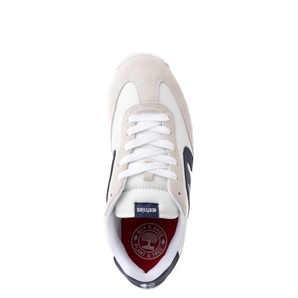 alternate view Mens etnies Lo-Cut CB Skate Shoe - White / NavyALT4B