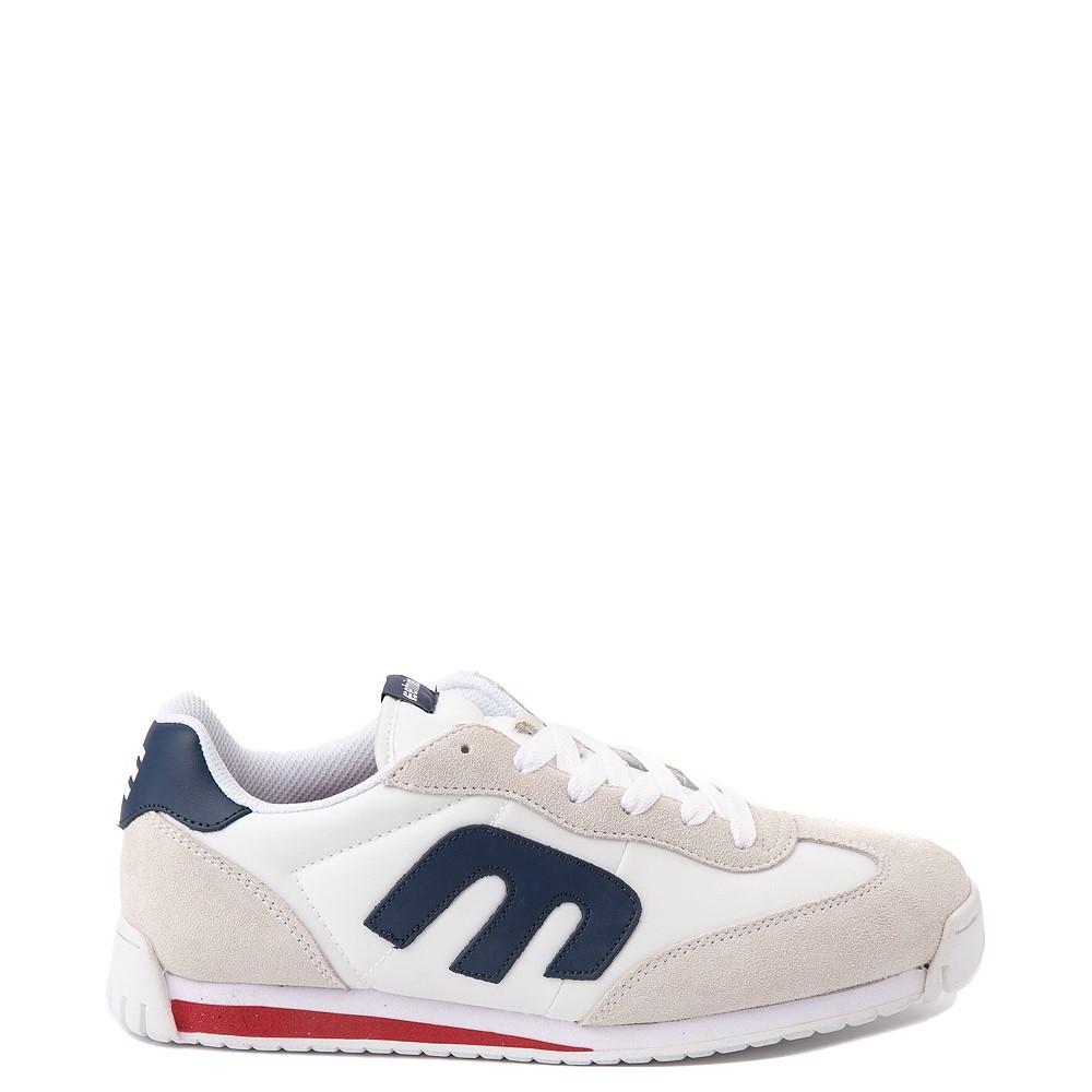 Mens etnies Lo-Cut CB Skate Shoe - White / Navy