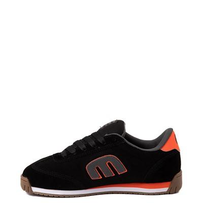Alternate view of Mens etnies Lo-Cut II LS Skate Shoe - Black / Gray / Orange