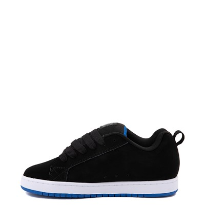Alternate view of Mens DC Court Graffik Skate Shoe - Black / Gray / Blue