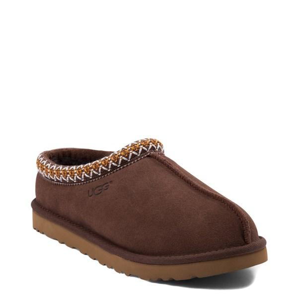 alternate view Mens UGG® Tasman Casual Shoe - ChocolateALT1