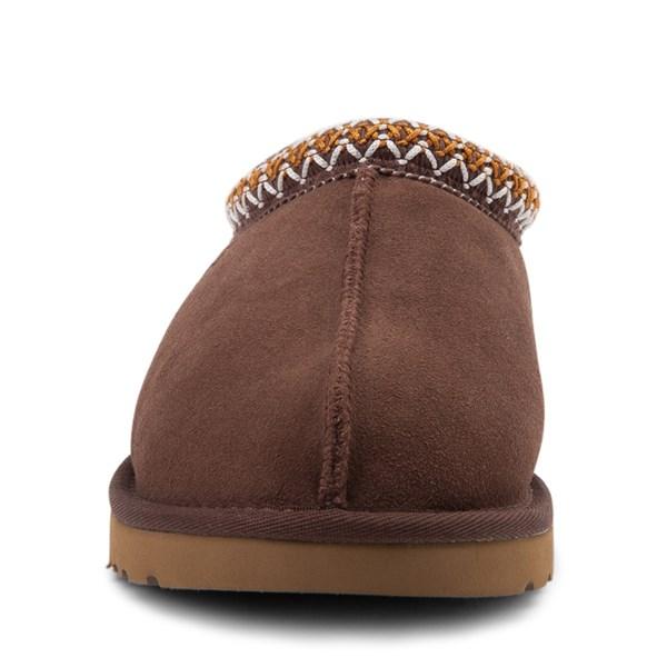 alternate view Mens UGG® Tasman Casual Shoe - ChocolateALT4