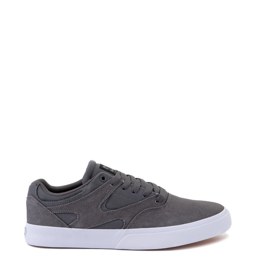Mens DC Kalis Vulc Skate Shoe - Gray