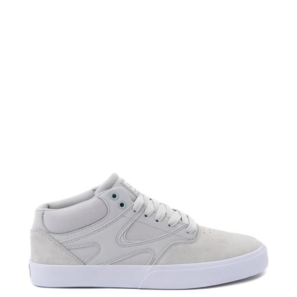 Mens DC Kalis Vulc Mid Skate Shoe - Gray