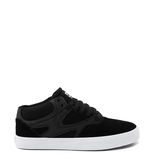 Main view of Mens DC Kalis Vulc Mid Skate Shoe - Black