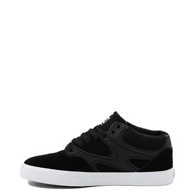 Alternate view of Mens DC Kalis Vulc Mid Skate Shoe - Black