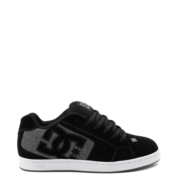 Mens DC Net Skate Shoe - Black / Gray