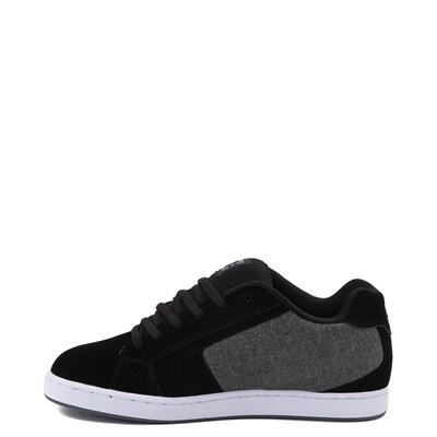 Alternate view of Mens DC Net Skate Shoe - Black / Gray