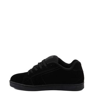 Alternate view of Mens DC Net Skate Shoe - Black / Camo
