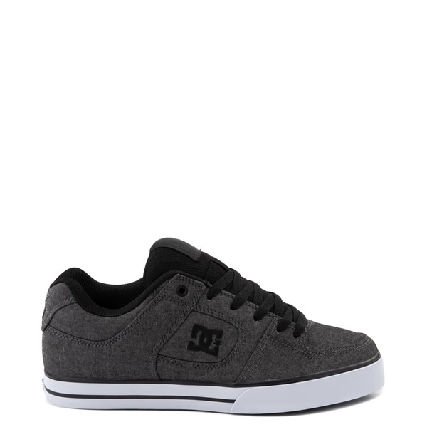 Main view of Mens DC Pure Skate Shoe - Charcoal Heather