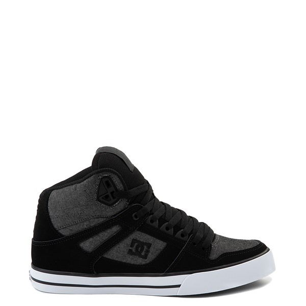 Main view of Mens DC Pure Hi SE Skate Shoe - Charcoal Heather