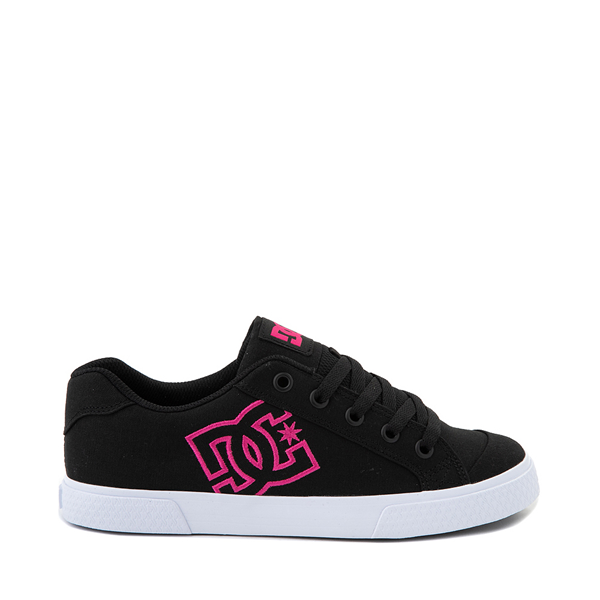 Womens DC Chelsea Skate Shoe - Black / Pink