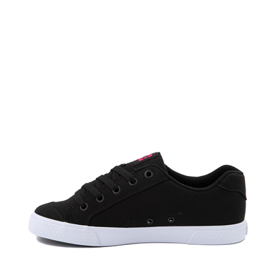 Alternate view of Womens DC Chelsea Skate Shoe - Black / Pink