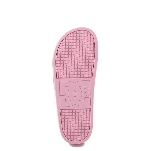 alternate view Womens DC Slider Platform Slide Sandal - PinkALT3