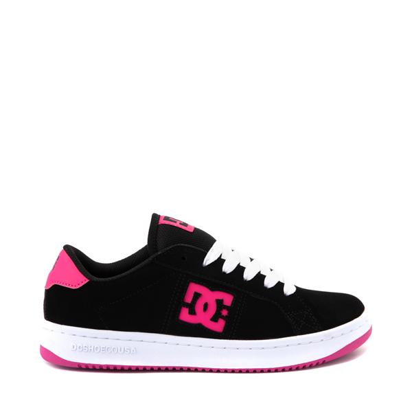 Main view of Womens DC Striker Skate Shoe - Black / Pink