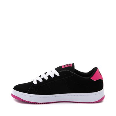 Alternate view of Womens DC Striker Skate Shoe - Black / Pink