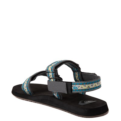 Alternate view of Mens Quiksilver Monkey Caged Sandal - Green / Blue / Gray