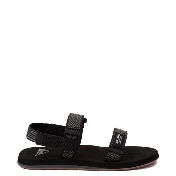 Main view of Mens Quiksilver Monkey Caged Sandal - Black / Gray