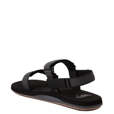 Alternate view of Mens Quiksilver Monkey Caged Sandal - Black / Gray