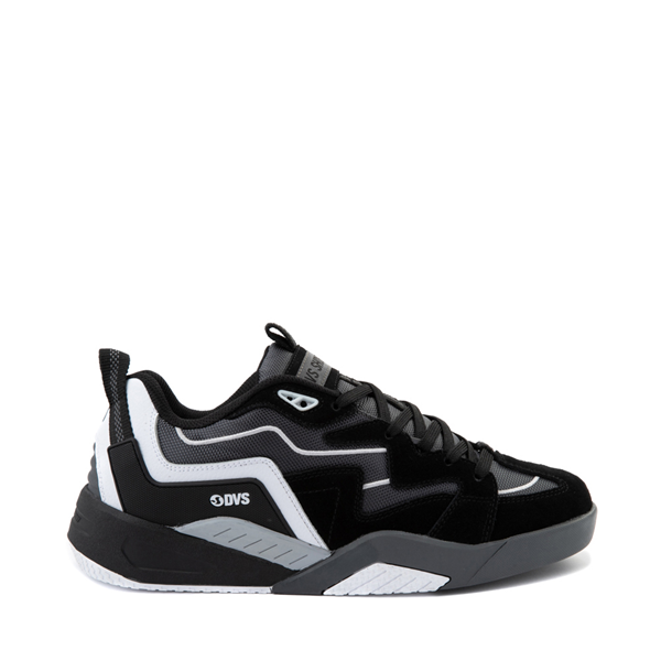 Main view of Mens DVS Devious Skate Shoe - Black / Charcoal / White