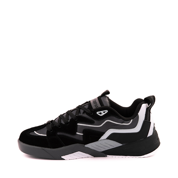 alternate view Mens DVS Devious Skate Shoe - Black / Charcoal / WhiteALT1
