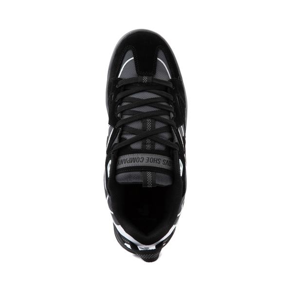 alternate view Mens DVS Devious Skate Shoe - Black / Charcoal / WhiteALT2