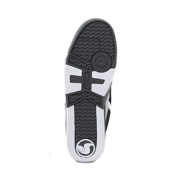 alternate view Mens DVS Devious Skate Shoe - Black / Charcoal / WhiteALT3