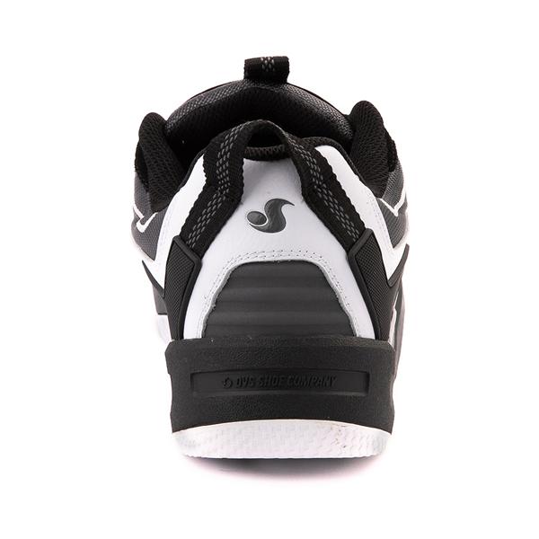 alternate view Mens DVS Devious Skate Shoe - Black / Charcoal / WhiteALT4