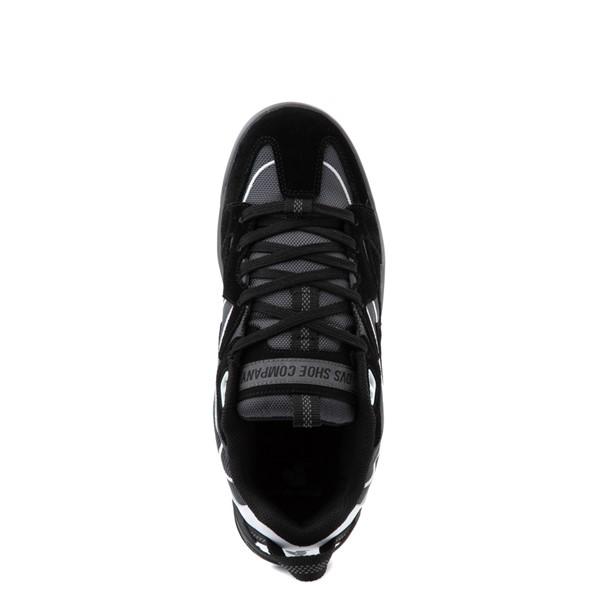 alternate view Mens DVS Devious Skate Shoe - Black / Charcoal / WhiteALT4B