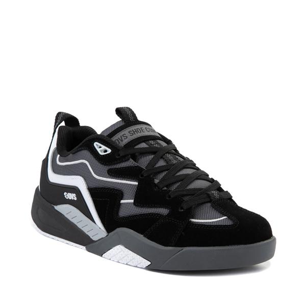 alternate view Mens DVS Devious Skate Shoe - Black / Charcoal / WhiteALT5