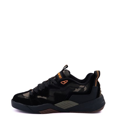 Alternate view of Mens DVS Devious Skate Shoe - Black / Camo / Orange