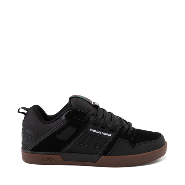Main view of Mens DVS Comanche 2.0+ Skate Shoe - Black / Gum