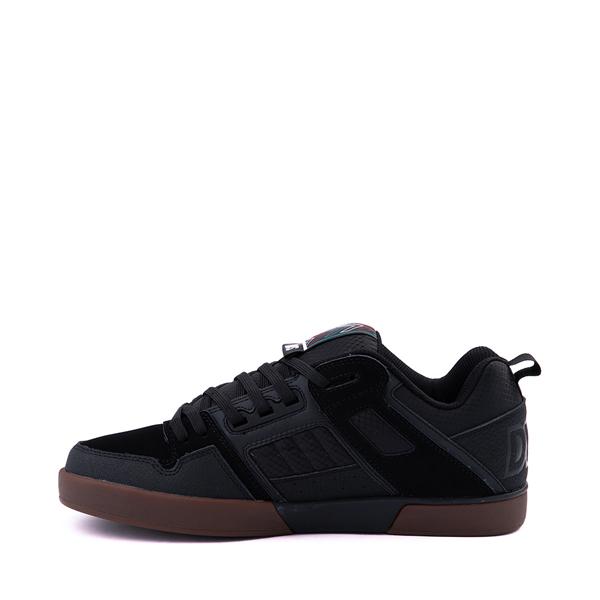 alternate view Mens DVS Comanche 2.0+ Skate Shoe - Black / GumALT1
