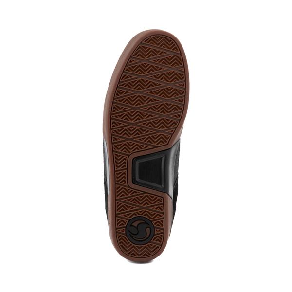 alternate view Mens DVS Comanche 2.0+ Skate Shoe - Black / GumALT3