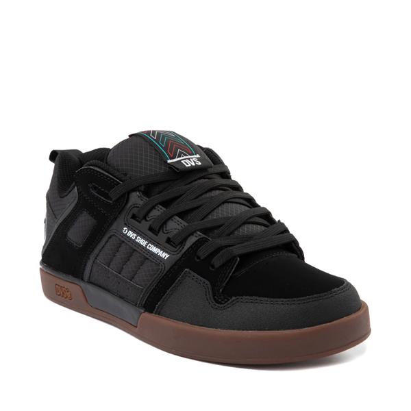 alternate view Mens DVS Comanche 2.0+ Skate Shoe - Black / GumALT5
